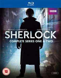 BBC's Sherlock - Series 1 and 2 Blu-ray  (The Hut) (englisch)