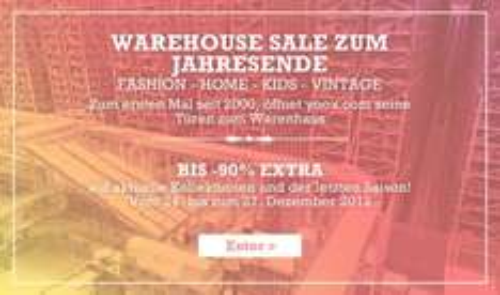 Warehouse Sale zum Jahresende, bis zu -90% Extra Yoox.com