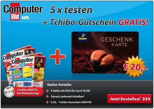 5x Computer Bild + DVD für - 0,50 EUR