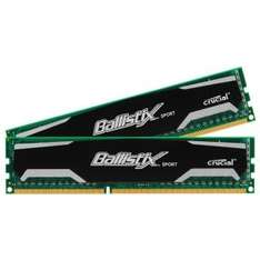 Crucial - 8GB DDR3-1600 Kit Ballistix Sport PC3-12800U (CL9-9-9-24) für 27,64€ [@digitalo.de]