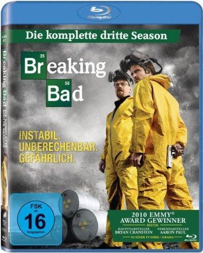 [Amazon.de | Blu-ray] Breaking Bad - Die komplette dritte Season für ca. 16€