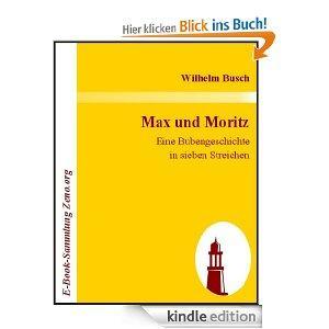 [kindle] Max und Moritz, Wilhelm Bush und weitere tolle Klassiker gratis