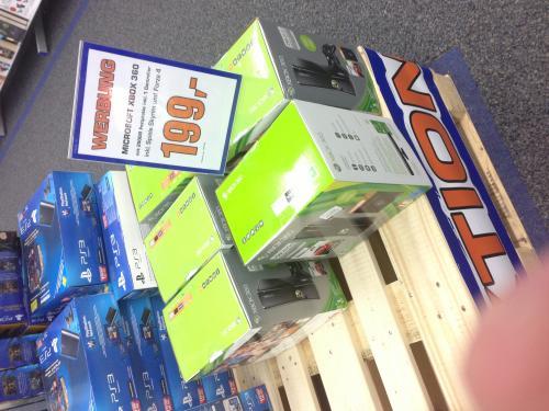 [LOKAL MH] XBOX 360 - 250 GB - Forza 4 - Skyrim - Bundle für nur 199€ im RRZ