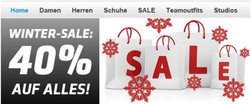 40 % auf ALLEs (zB Nike und sonstige Sportswear ! www.my-sportswear.de