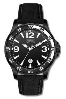 [Amazon] Invicta Herren-Armbanduhr XL Analog Quarz Leder 12125