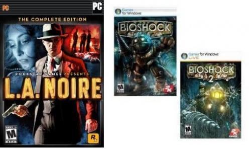 [Steam]L.A. Noire: The Complete Edition für 5.65€ und Bioshock 1+2 für 3.77€ bei Amazon.com