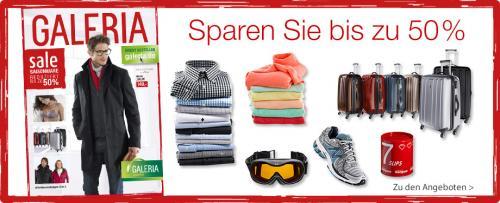 Winter Sale bis zu 50% Rabatt – Saisonware bei Galeria-kaufhof.de