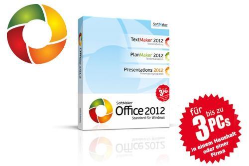 Softmaker Office Standard 2012, 3 User (deutsch) (PC)