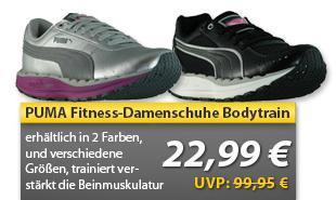 Puma Fitness-Schuhe Gesundheitsschuhe  Bodytrain  in 2 Farben, für 22,99 € portofrei