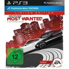 Need for Speed Most Wanted limited edition PS3 (MM Hannover, lokal?)