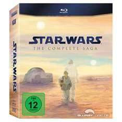 Star Wars: The Complete Saga (Episode 1-6) Blu-Ray für ~62,73€