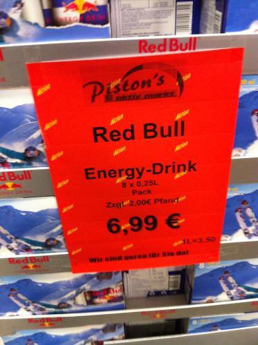 (lokal?) Red bull 8x0,25l - Edeka