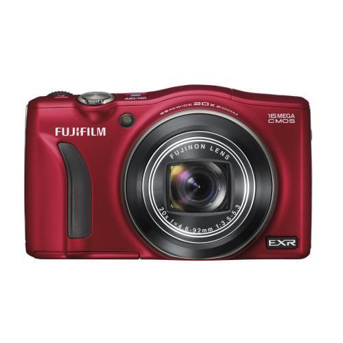 Amazon WHD: Fujifilm FinePix F750EXR Digitalkamera (16 Megapixel, 20-fach opt. Zoom, 7,6 cm (3 Zoll) Display, bildstabilisiert) rot (NP   195,- EUR)