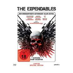 The Expendables - Hero Pack (Limited Special Edition, Steelbook) [Blu-ray] 16,99 € @Amazon.de