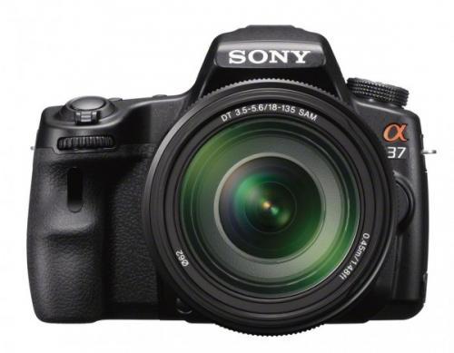 Sony SLT-A37 + SAL 18-55mm Zoom-Objektiv