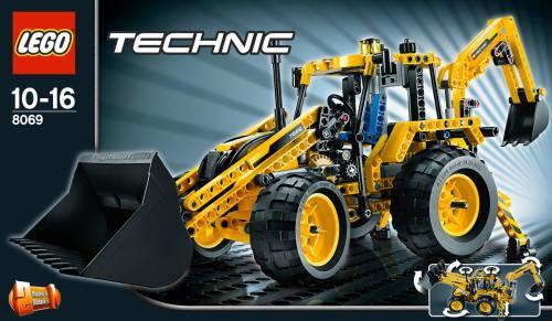 [Lokal Hannover?] Lego Technic 8069 Baggerlader bei real