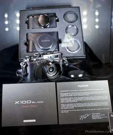 Fuji X100 Black Limited Edition für 699 GBP ( ca. 886 EUR) bei Amazon UK