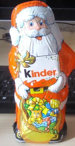 REGIONAL? 50 Prozent auf alle Weihnachtssüßigkeiten bei [Penny] Kinder Schokolade Weihnachtsmann 0,90 Euro