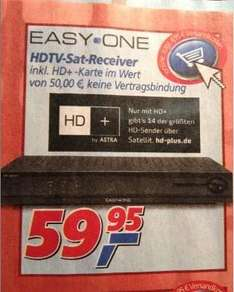 EasyOne HD+ Basic Receiver inkl. 12 Monate HD+ Karte