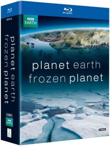 Frozen Planet / Planet Earth Double Pack (8 Discs) (Blu-ray) für 32,71 € inkl. VSK @ Amazon.uk