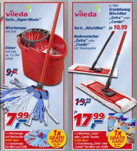 [Offline bei real,-] Vileda Wischmop Deals vom 2.1. bis 5.1.