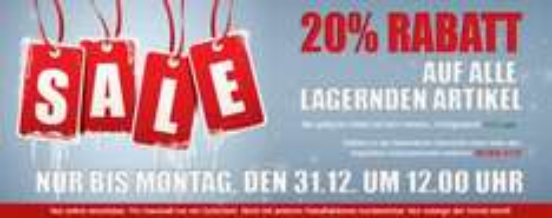 20% Rabatt auf Möbel - ohne Versandkosten