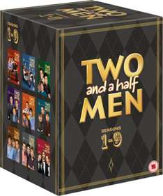 [@ ZAVVI]Two and a Half Men - Seasons 1-9 DVD
