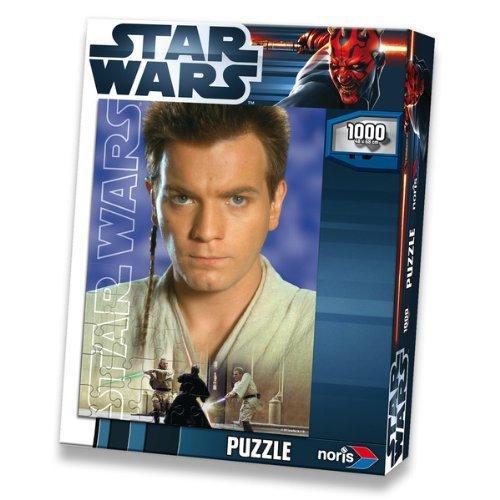 Star Wars Episode 1 1000 teile Puzzle Obi - Wan für 4,73 € & Star Wars Episode 1 1000 teile Darth Maul für 5,26 €
