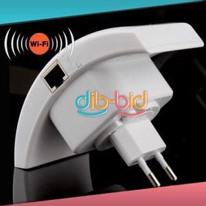 (CN) Wifi 802.11N  WLAN Repeater mit EU Stecker und LAN Kabel für ca. 15,50€ @ Ebay