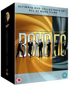 James Bond - 22 Film Collection DVD
