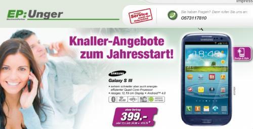 Galaxy S3 für 399€ LOKAL?.......EP ElectronicPartner