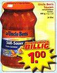 Uncle Ben's Saucen @EDEKA lokal?
