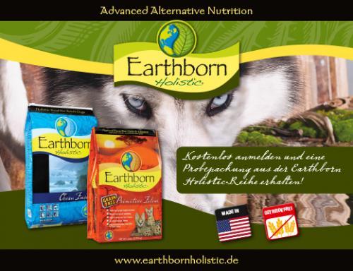 -Facebook- Earthborn Katzen oder Hundefutterprobe