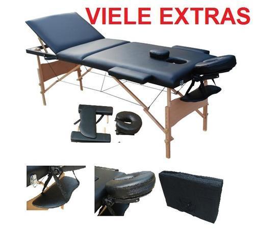 Luxus 3 Zonen Massagetisch Massageliege Massagebank Kosmetikliege Liege für 59,95 EUR inkl. Versand @ ebay.de