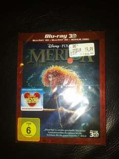 Merida - Legende der Highlands 3D + 2D Blu-ray (regional?) Müller