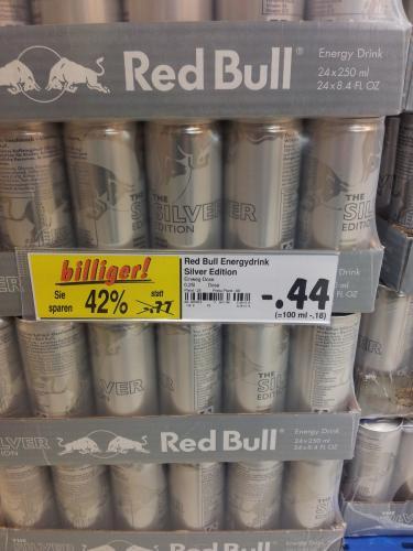 (Lokal-FS) RedBull silver -,44 Euro (MHD-Ware)