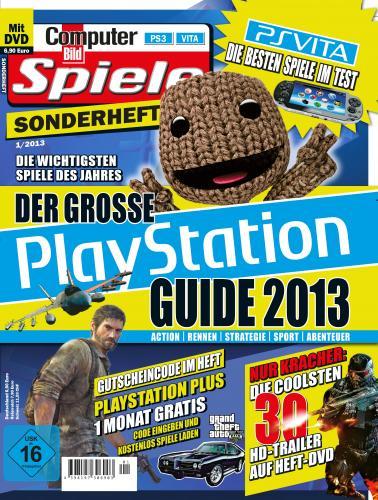 30 Tage Playstation Plus in der aktuellen Computer Bild Spiele Sonderheft für 6,90€