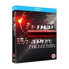 Blu-Ray Collection - Lethal Weapon 1-4 (5 Discs) für €15,29 @wowhd