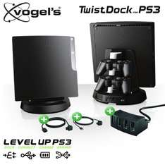 Vogels TwistDock für PlayStation 3 mit USB-Hub und Kabel-Set @ iBood