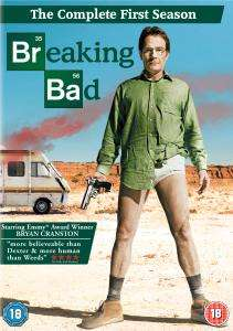 (UK) Breaking Bad - Staffel 1 [4 x DVD] für ca. 8,80 € @thehut.com