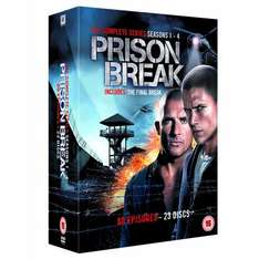 Prison Break - Complete Season 1-4 (New packaging) [DVD] für 23,71 €