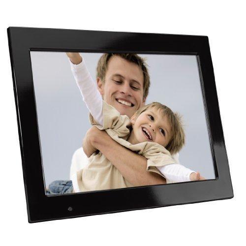 Hama Digitaler Bilderrahmen Premium (38 cm (15 Zoll) Display, CF/SD/SDHC/MMC/MS-Card, Bildrotation) inkl. Fernbedienung