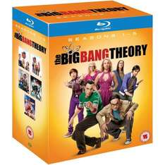 The Big Bang Theory - Complete Season 1-5 [Blu-ray] für 38,44 €