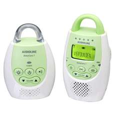 [amazon] Audioline 596016 Baby Care 7 Babyphon mit digitaler, rauschfreier Funkübertragung