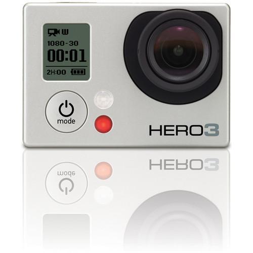 GoPro Hero 3 Silver - 295€ aus England