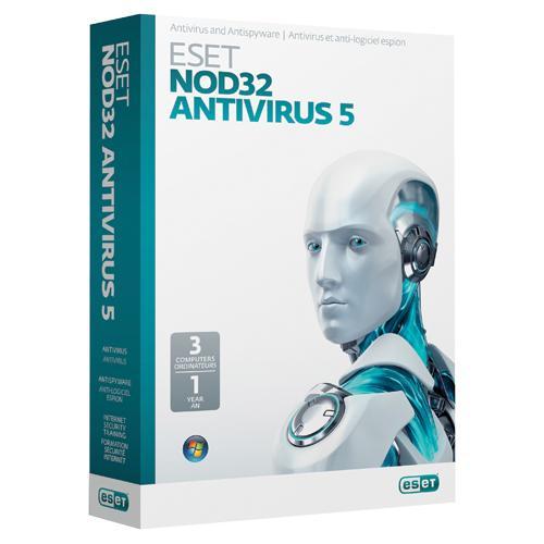 NOD32 Antivirus5, 3PC für 18,99€