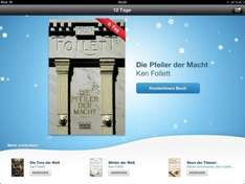 12 Tage Geschenke bei iTunes - Ken Follett - Die Pfeiler der Macht