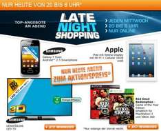 [Preisupdate] Saturn Late Night - Galaxy Y Duos (99€), Apple Ipad 16GB Wifi/Cellular (555€), Samsung UE40ES6200 (599€), Red Dead Redemption (PS3/Xbox) (15€)
