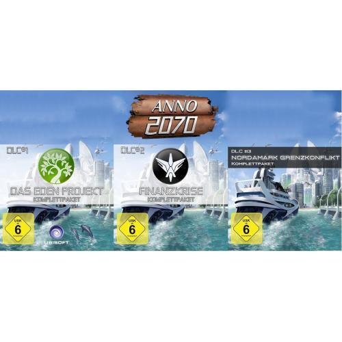 ANNO 2070 DLC 1-3 Bundle [Download][Amazon.de]