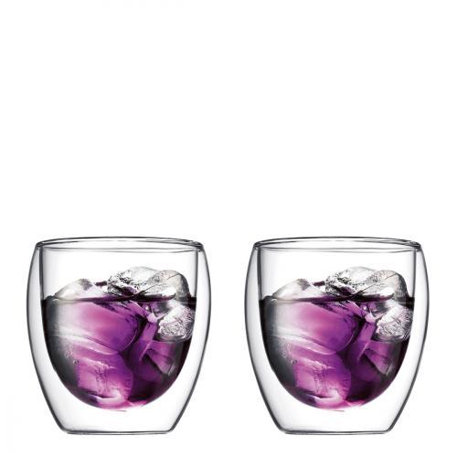 Bodum Pavina 6 Doppelwand-Gläser (Thermo) 250ml